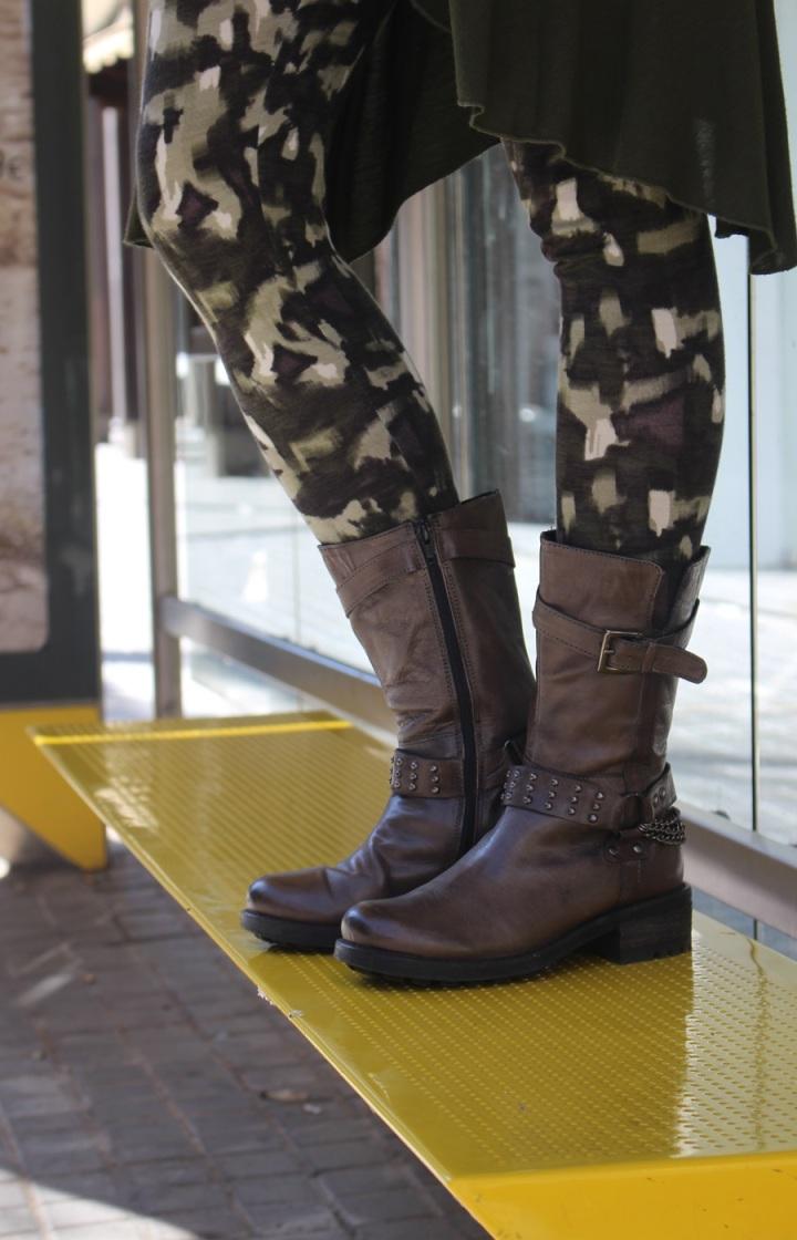 Cuida de ti, cuida tu imagen, tendencias otoño 2014, trendy looks auti¡umn 2014, khaki colour, military style 99