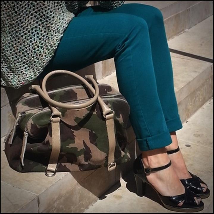 Cuida de ti, cuida tu imagen, tendencias otoño 2014, trendy looks auti¡umn 2014, khaki colour, military style 9905