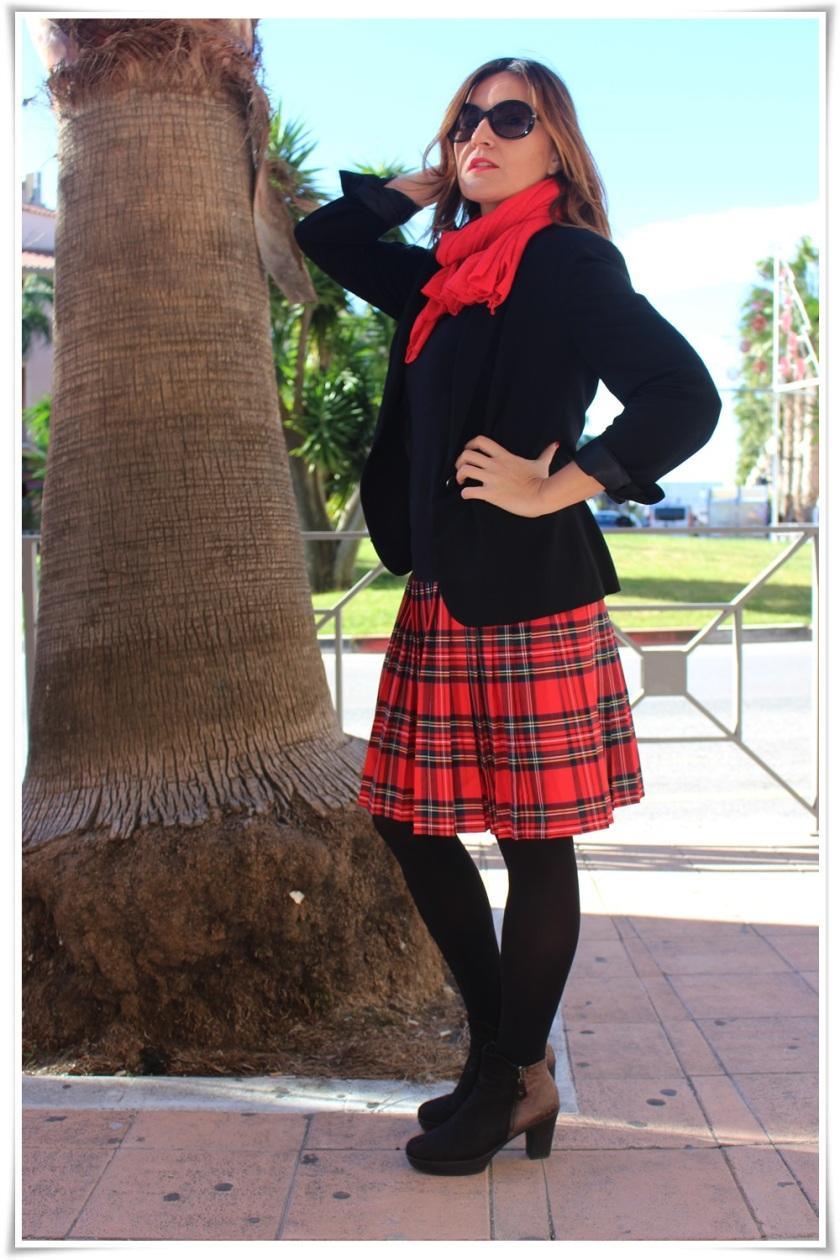 Cuida de ti, cuida tu imagen, falda tartán, escocesa, scotish, street style, winter looks 4 (2)