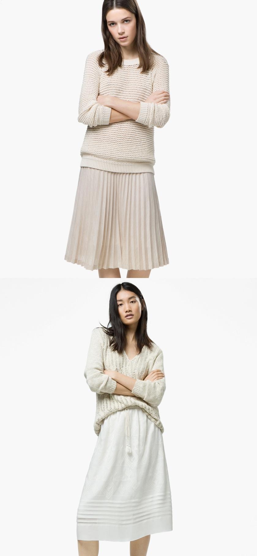Cuida de ti, cuida tu imagen, faldas primavera verano 2015 Massimo Dutti ya es primavera 30