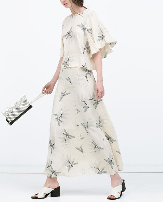 Cuida de ti, cuida tu imagen, faldas primavera verano 2015 zara, ya es primavera 3