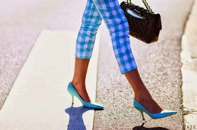Cuida de ti, cuida tu imagen, estampado gingham, cuadro vichy, street style, tendencias primavera, spring trends, vichy 6