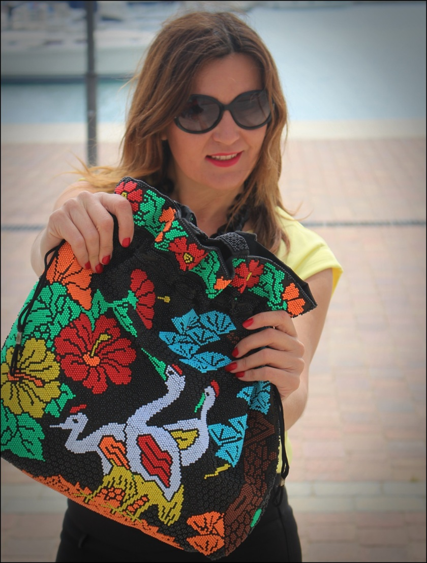 Cuida de ti, cuida tu imagen, Mi momento Locomia, pantalones vintage, bolso vintage, blusa primark, flatfoms Zara, summer looks, summer trends, outfit of the day, street style 10
