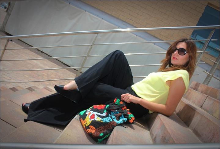 Cuida de ti, cuida tu imagen, Mi momento Locomia, pantalones vintage, bolso vintage, blusa primark, flatfoms Zara, summer looks, summer trends, outfit of the day, street style 8 (2)