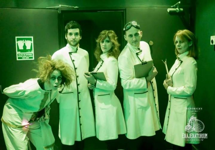 Cuida de ti, Cuida tu imagen, Teatre Almeria, 1Enajenatorium, Doctor H, Viaje hacía la enajenación, espectáculo, show, mente 2