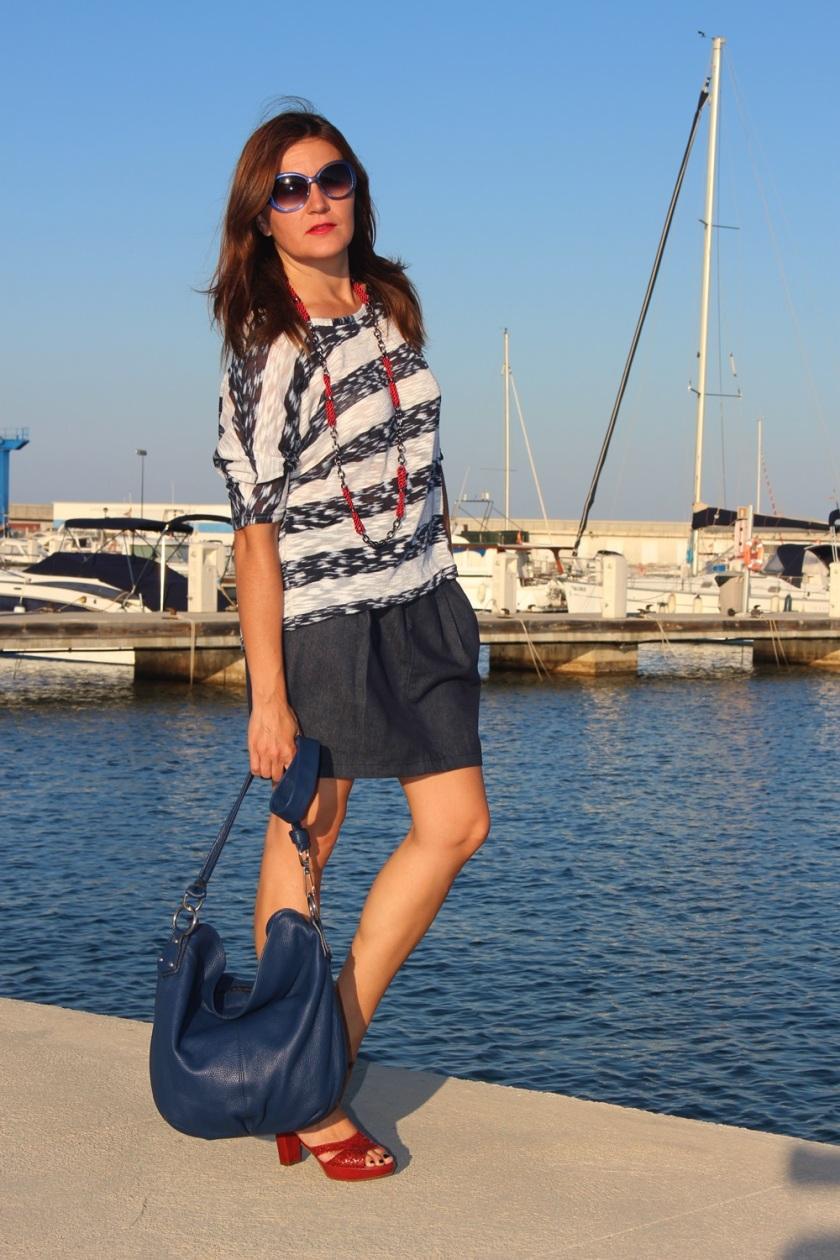 Cuida de ti, cuida tu imagen, classic navy, summer looks, trends, marinero, street style, looks de verano 3
