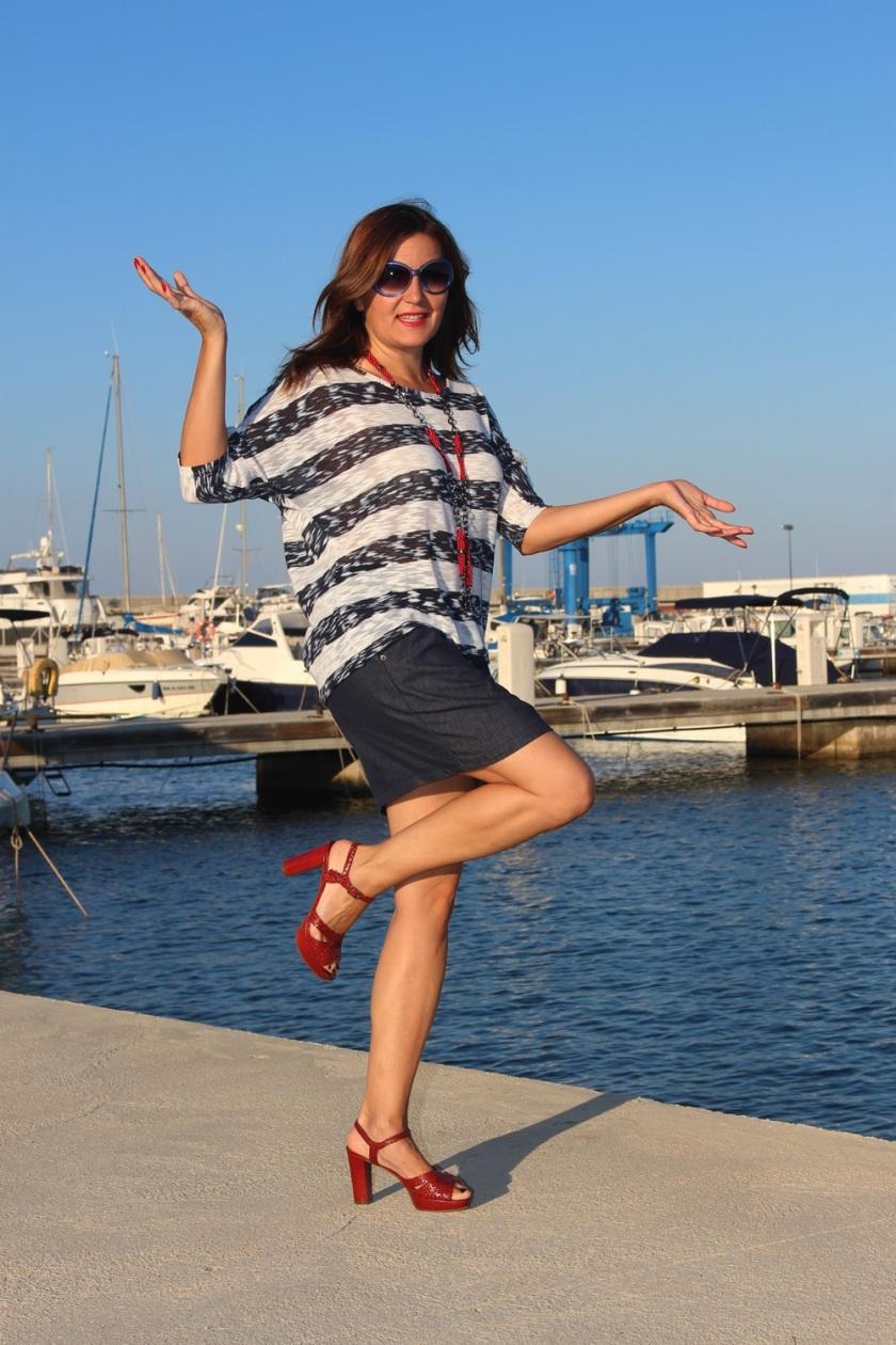 Cuida de ti, cuida tu imagen, classic navy, summer looks, trends, marinero, street style, looks de verano 5