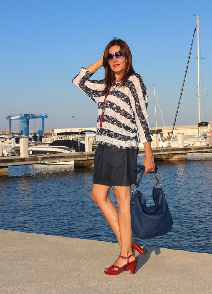 Cuida de ti, cuida tu imagen, classic navy, summer looks, trends, marinero, street style, looks de verano 88 (2)