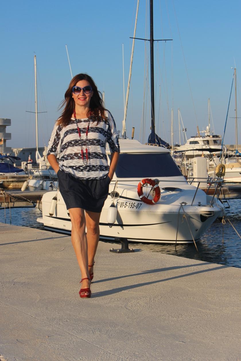 Cuida de ti, cuida tu imagen, classic navy, summer looks, trends, marinero, street style, looks de verano