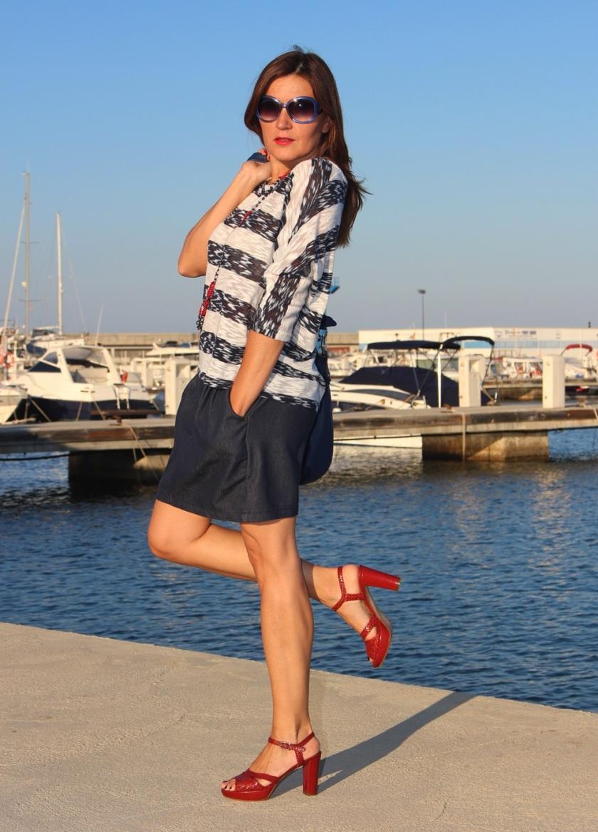 Cuida de ti, cuida tu imagen, classic navy, summer looks, trends, marinero, street style, looks de verano23
