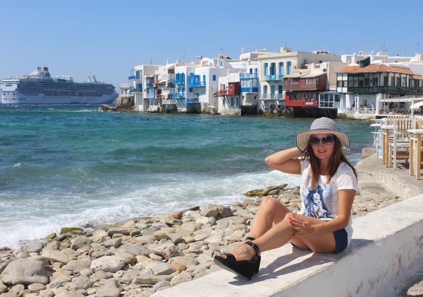 Cuida de ti, cuida tu imagen, Mykonos way of life, holidays, street style, blue, islas griegas 4