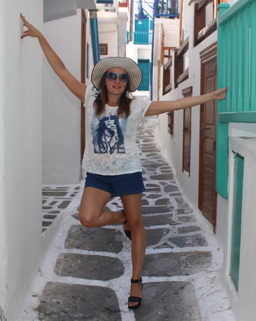 Cuida de ti, cuida tu imagen, Mykonos way of life, holidays, street style, blue, islas griegas150