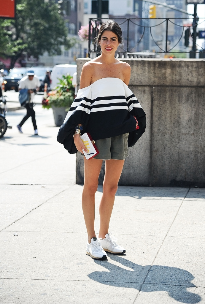 NEW YORK, NY - SEPTEMBER 06: Leandra Medine is seen outside the Prabal Gurung show on September 6, 2014 in New York City. (Photo by Daniel Zuchnik/Getty Images)
