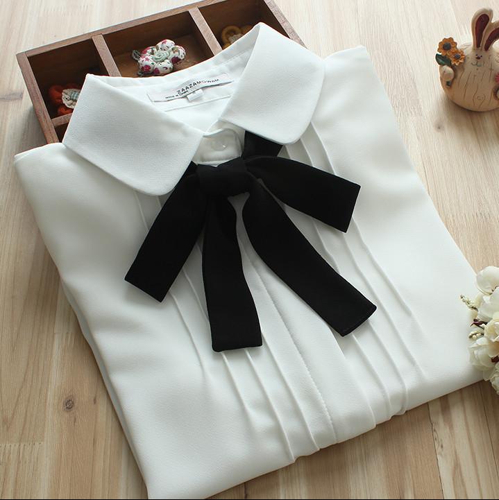 Cuida de ti, cuida tu imagen, Camisa blanca, lazada negra, tendencias otoño invierno SS2015, trends, black or white 2