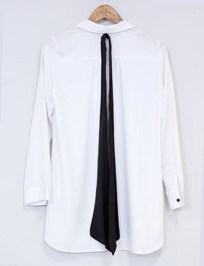 Cuida de ti, cuida tu imagen, Camisa blanca, lazada negra, tendencias otoño invierno SS2015, trends, black or white 6