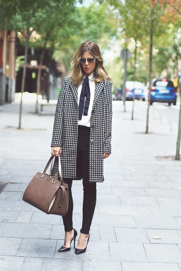 Cuida de ti, cuida tu imagen, Camisa blanca, lazada negra, tendencias otoño invierno SS2015, trends, black or white 639