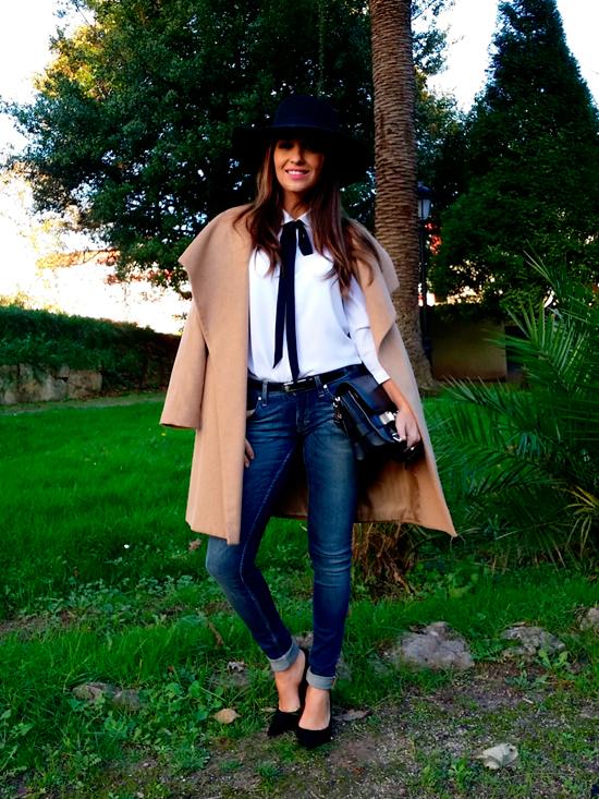 Cuida de ti, cuida tu imagen, Camisa blanca, lazada negra, tendencias otoño invierno SS2015, trends, black or white 67