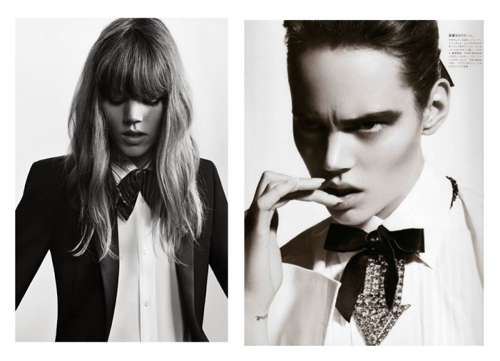 Cuida de ti, cuida tu imagen, Camisa blanca, lazada negra, tendencias otoño invierno SS2015, trends, black or white 6dd