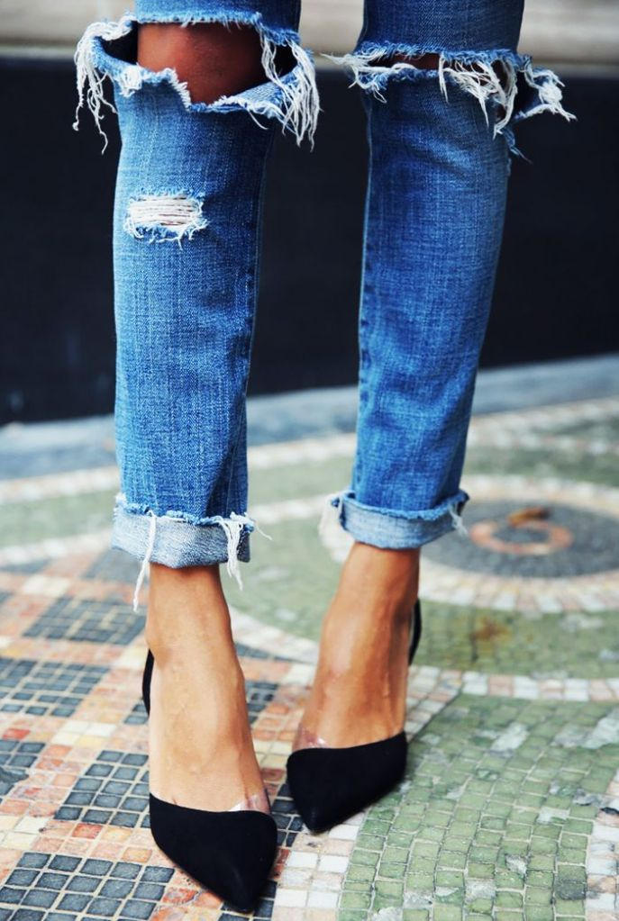 Cuida de ti, cuida tu imagen, trends, tendencias, ripped jeans 3