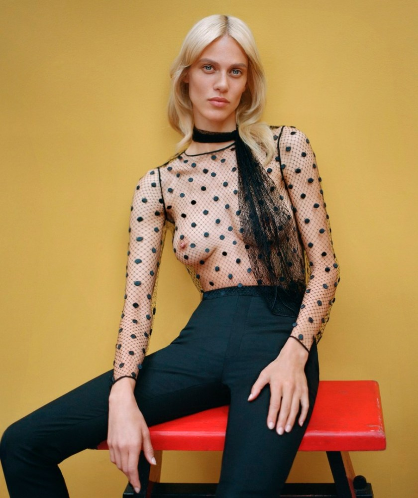 Cuida de ti, cuida tu imagen, publicidad, Aymeline Valade - Harper's Bazaar