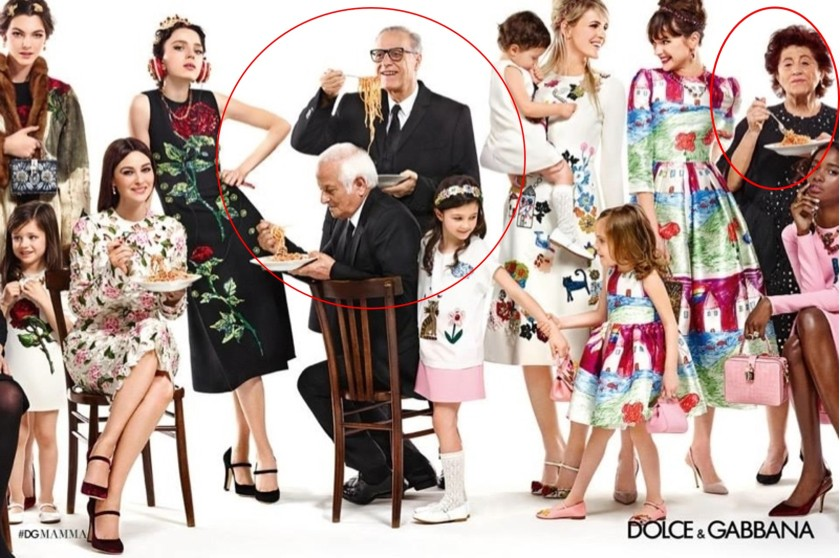 Dolce & Gabbanna, campñas iguales, Italianas, Sicilia, spaguettis, publicidad repetitiva