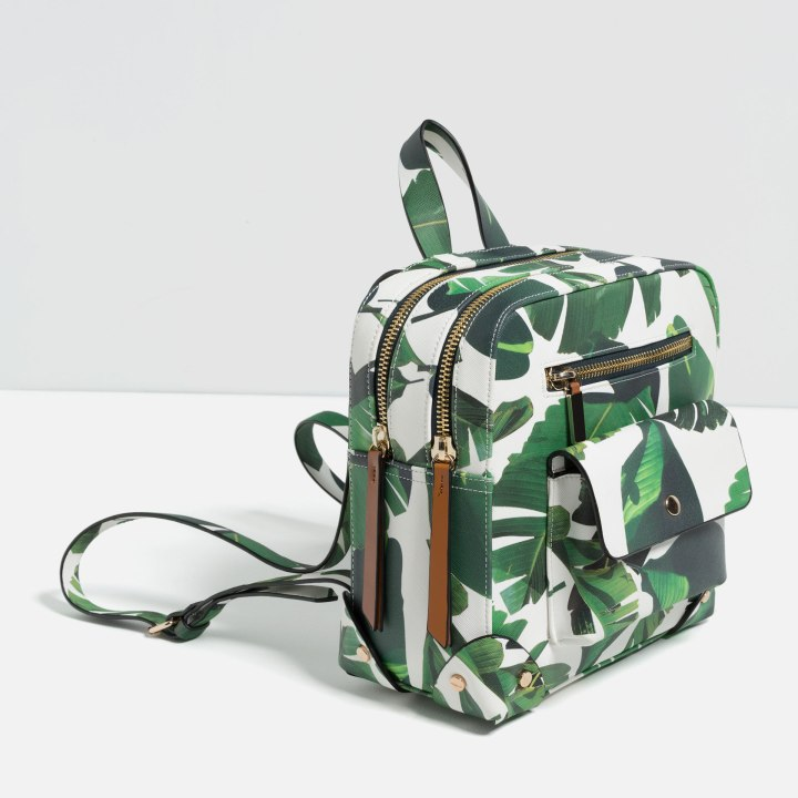 Mochila tropical zara 2, Cuida de ti, cuida tu imagen, mochilas, mochileras, back packs, backpacks-street-styles 4