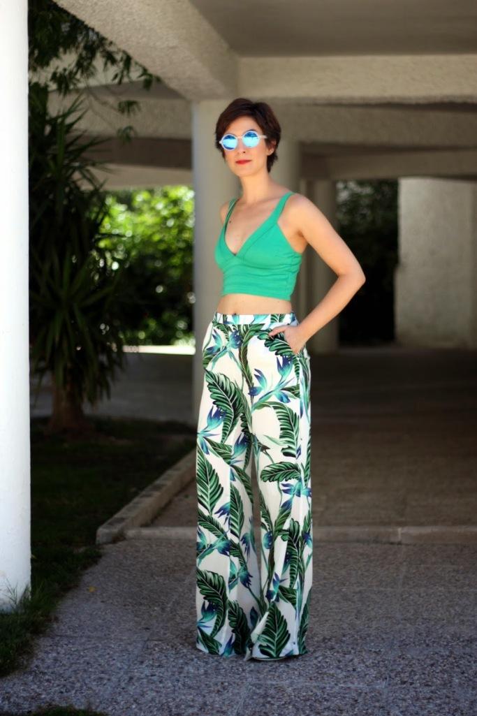 Palazzo 3, uida de ti, cuida tu imagen, tendencias primavera, mis favoritos, pantalones palazzo estampados