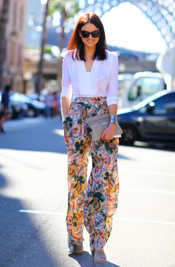 Palazzo 4, uida de ti, cuida tu imagen, tendencias primavera, mis favoritos, pantalones palazzo estampados