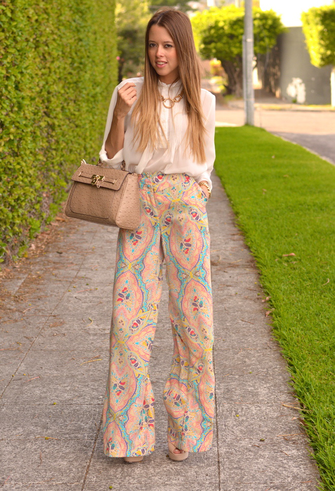 Palazzo 5, uida de ti, cuida tu imagen, tendencias primavera, mis favoritos, pantalones palazzo estampados