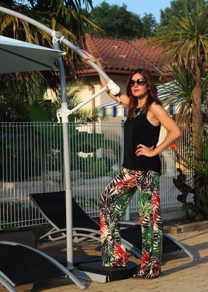 Palazzo 8, uida de ti, cuida tu imagen, tendencias primavera, mis favoritos, pantalones palazzo estampados