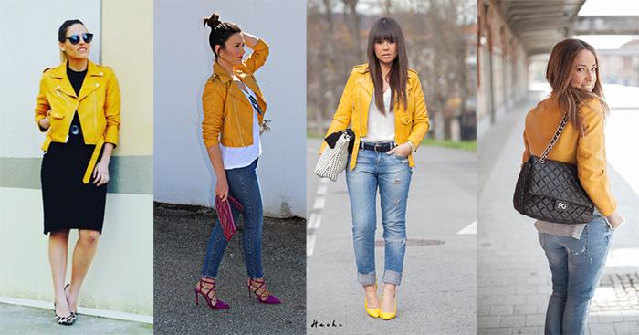 Cuida de ti, cuida tu imagen, tendencias, trends, virals, chaqueta, biker, inditex, bloggers, cazadora biker amarilla de zara 6