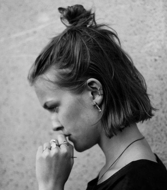 streetstyle-the-half-bun-hairstyle-trend-2015-2, Cuida de ti, cuida tu imagen, tendencias de verano, summer trends, el half bun