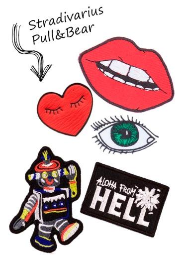Cuida de ti, cuida tu imagen, ojo al parche, back to 90s, parchear, pins, chapas, tendencias, trends 12