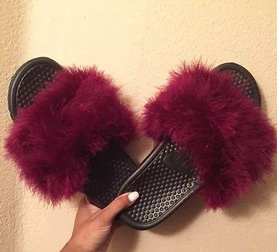 Cuida de ti, cuida tu imagen, Furry Sandals, el retorno del yety, modas locas, tendencias absurdas, zapas peludas by Nike