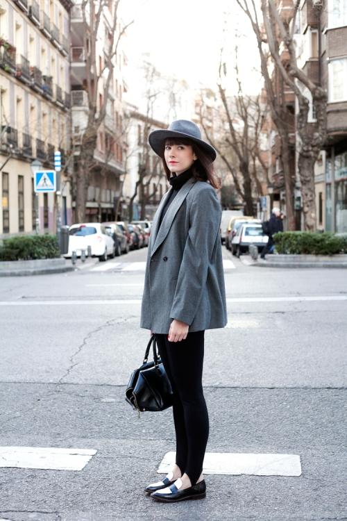 Cuida de ti, cuida tu imagen, fuseau, autumn trends, ,look_gris_sombrero-checosa01