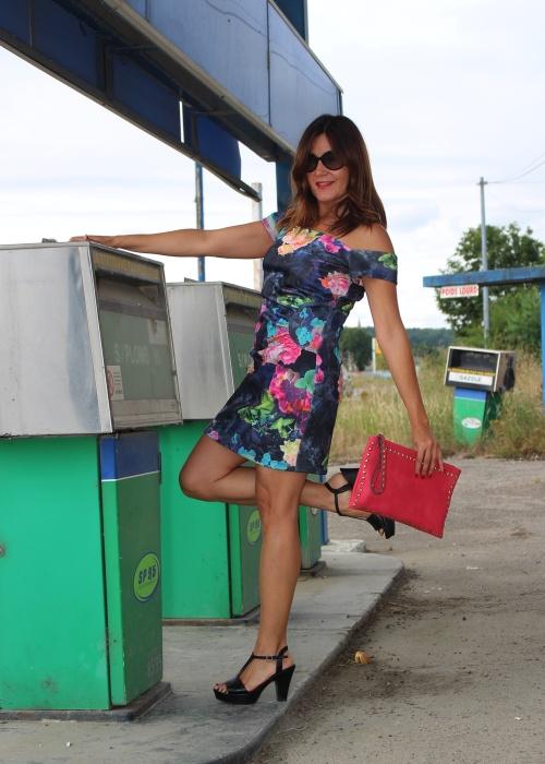 Cuida de ti, cuida tu imagen, tendencias, trends, off- the shoulder, Nogaro, Vestido hombros fuera, summer dress 2