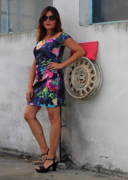 Cuida de ti, cuida tu imagen, tendencias, trends, off- the shoulder, Nogaro, Vestido hombros fuera, summer dress