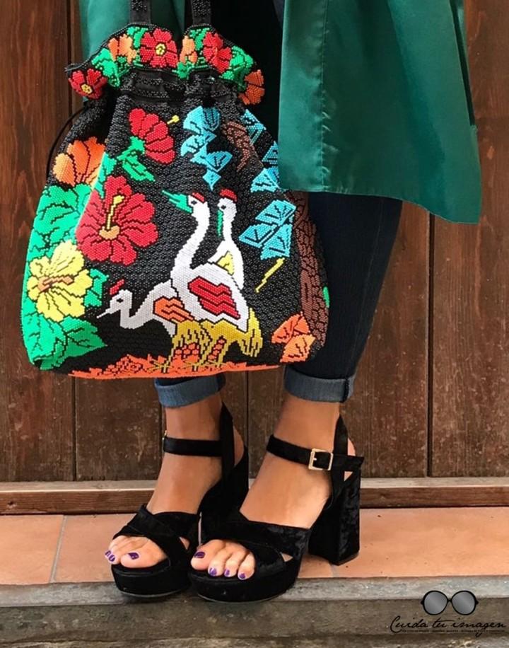 4 - Cuidatuimagen, tendencia kimono, verde esmeralda, vintage, desfile, barcelona, Borne