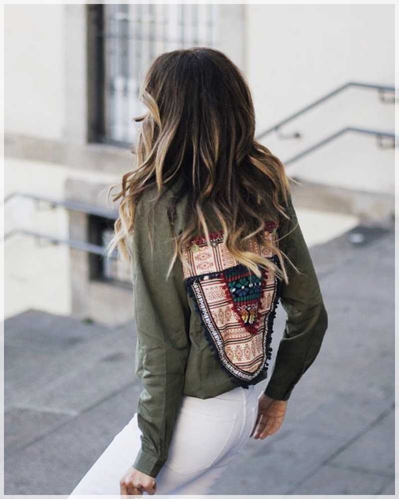 6 - Cuida de ti, Cuida tu imagen, tendencias primavera, Verde militar, trend, military trend, green, street style