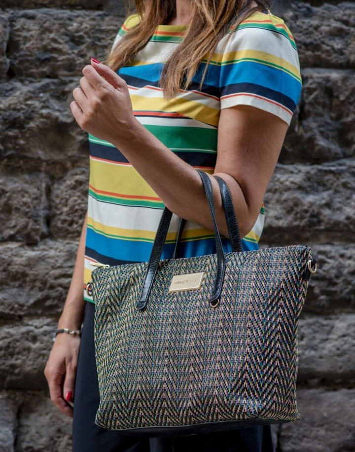 Cuida tu imagen, a rayas, looks de verano, summer trends, zapateria CASAS, Zara, bolso BIMBA & Lola 5