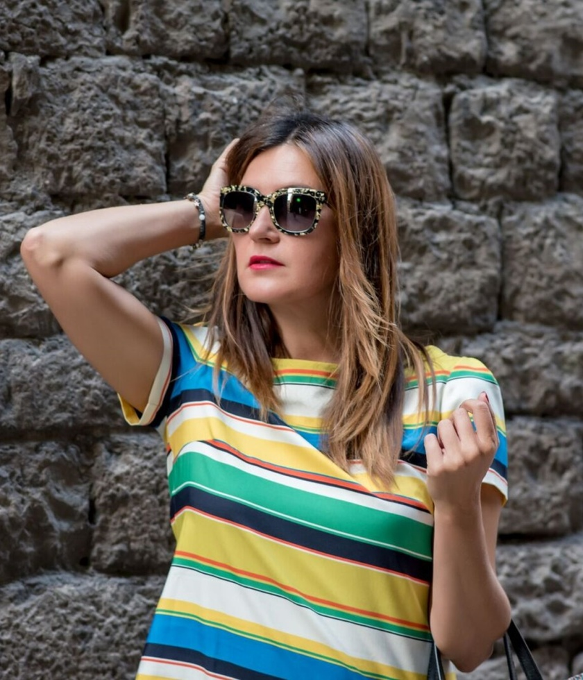 Cuida tu imagen, a rayas, looks de verano, summer trends, zapateria CASAS, Zara, bolso BIMBA & Lola 8