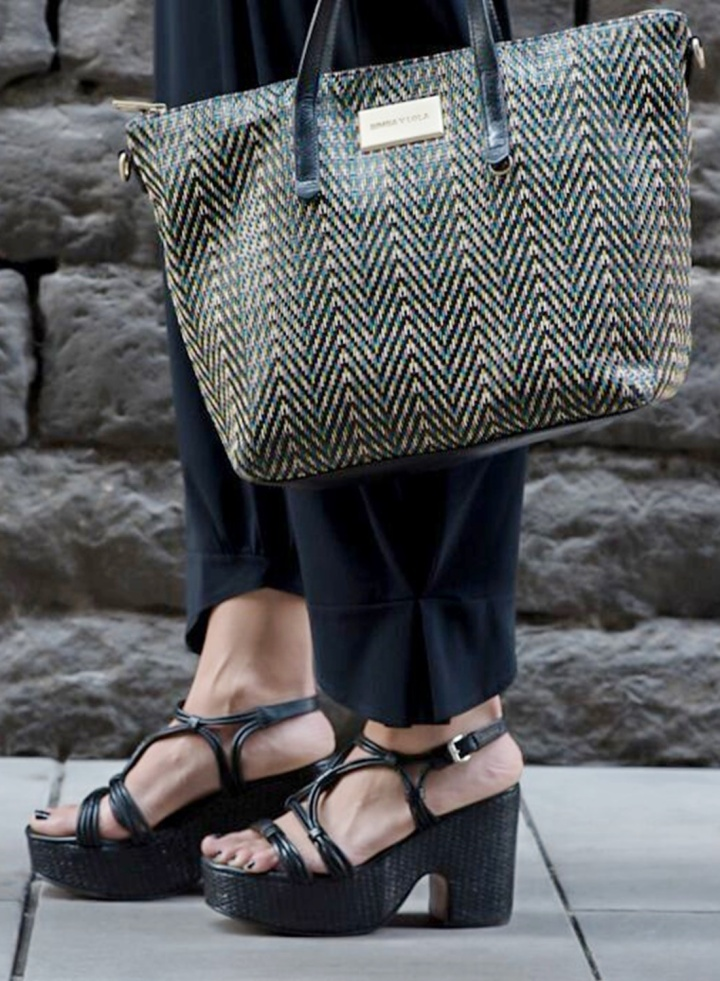 Cuida tu imagen, a rayas, looks de verano, summer trends, zapateria CASAS, Zara, bolso BIMBA & Lola 9