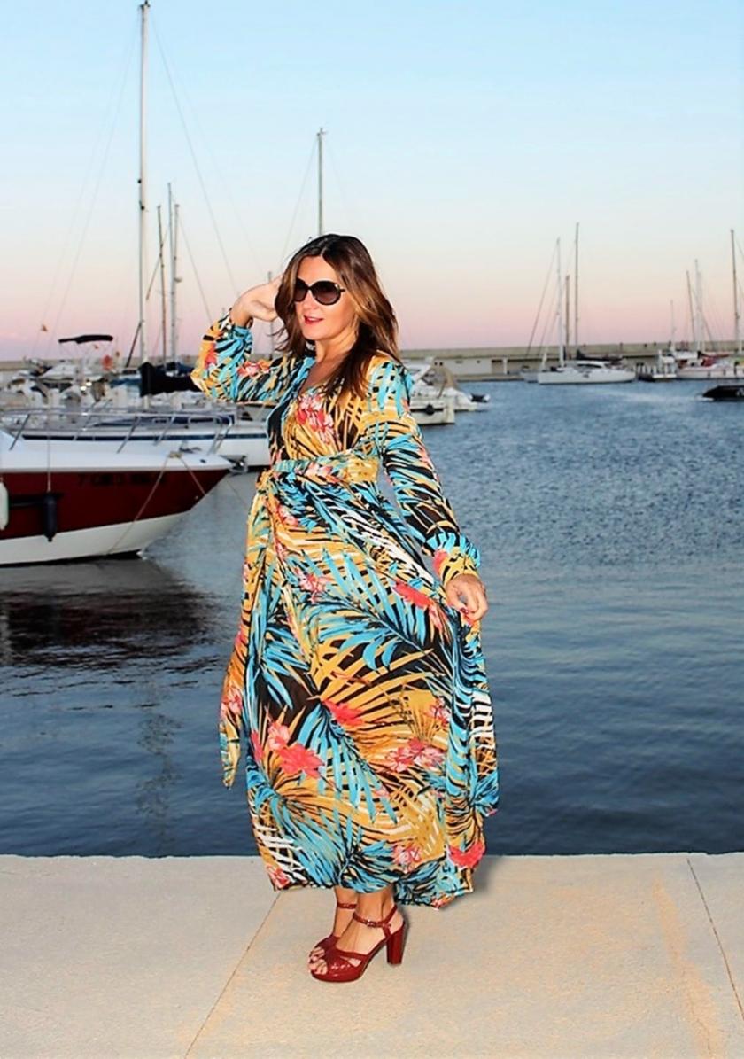 Cuida tu imagen, tendencias otoño, autumm, veroño, vestidos tropicales, ZAFUL 2