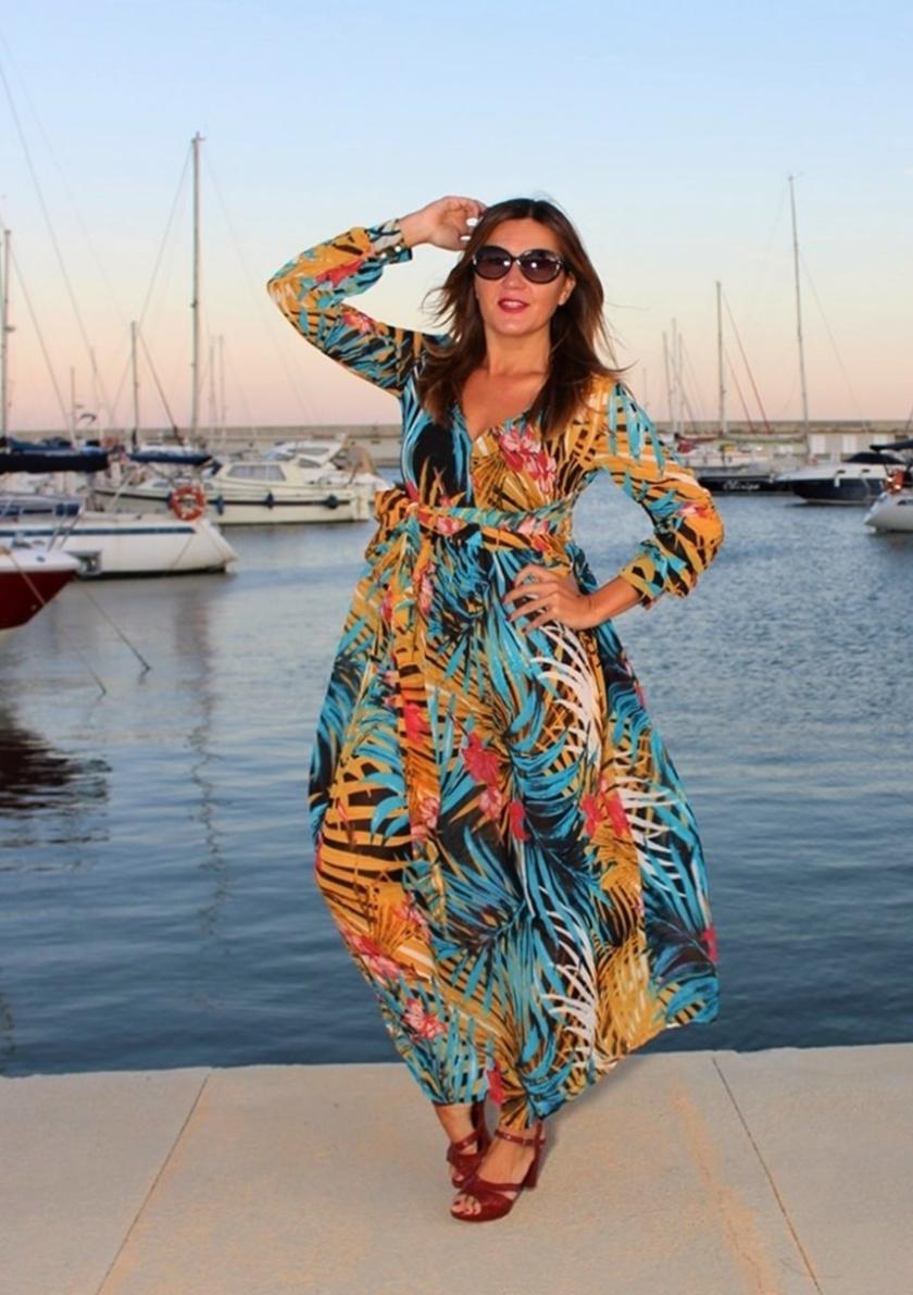 Cuida tu imagen, tendencias otoño, autumm, veroño, vestidos tropicales, ZAFUL 3