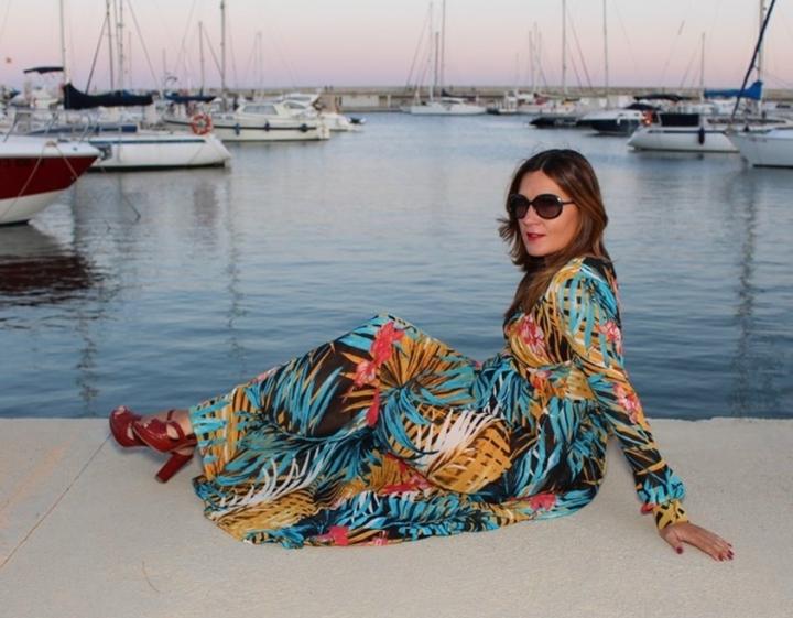 Cuida tu imagen, tendencias otoño, autumm, veroño, vestidos tropicales, ZAFUL 4