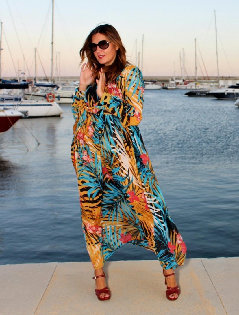 Cuida tu imagen, tendencias otoño, autumm, veroño, vestidos tropicales, ZAFUL 5