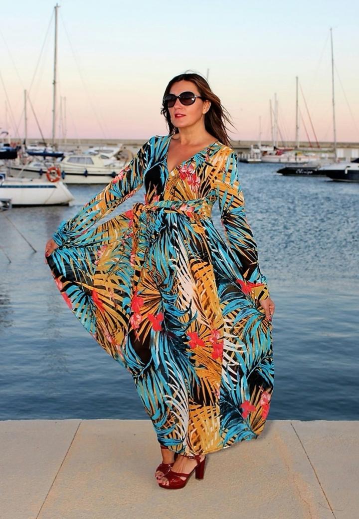 Cuida tu imagen, tendencias otoño, autumm, veroño, vestidos tropicales, ZAFUL