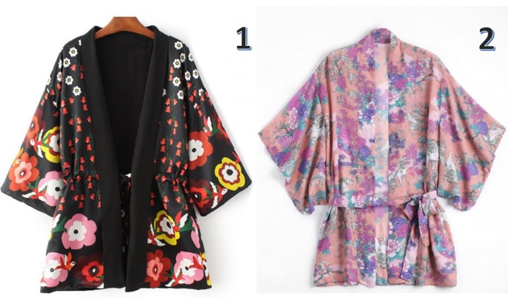 kimonos zaful