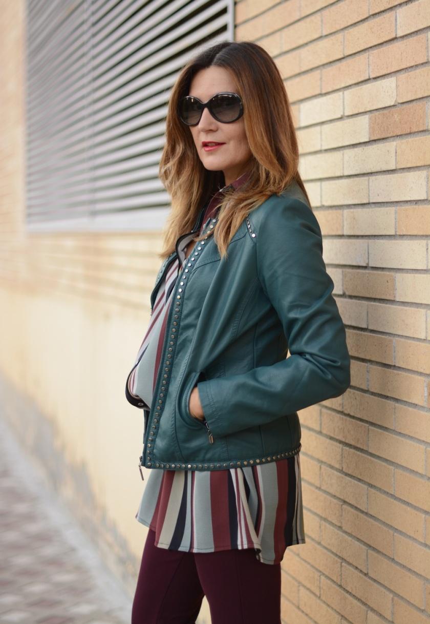 Cuida tu imagen, tendencias otoño, autumn trends, seventies, granate, verde, gris, colores de otoño, Alicia Santiago, Polca Moda 3