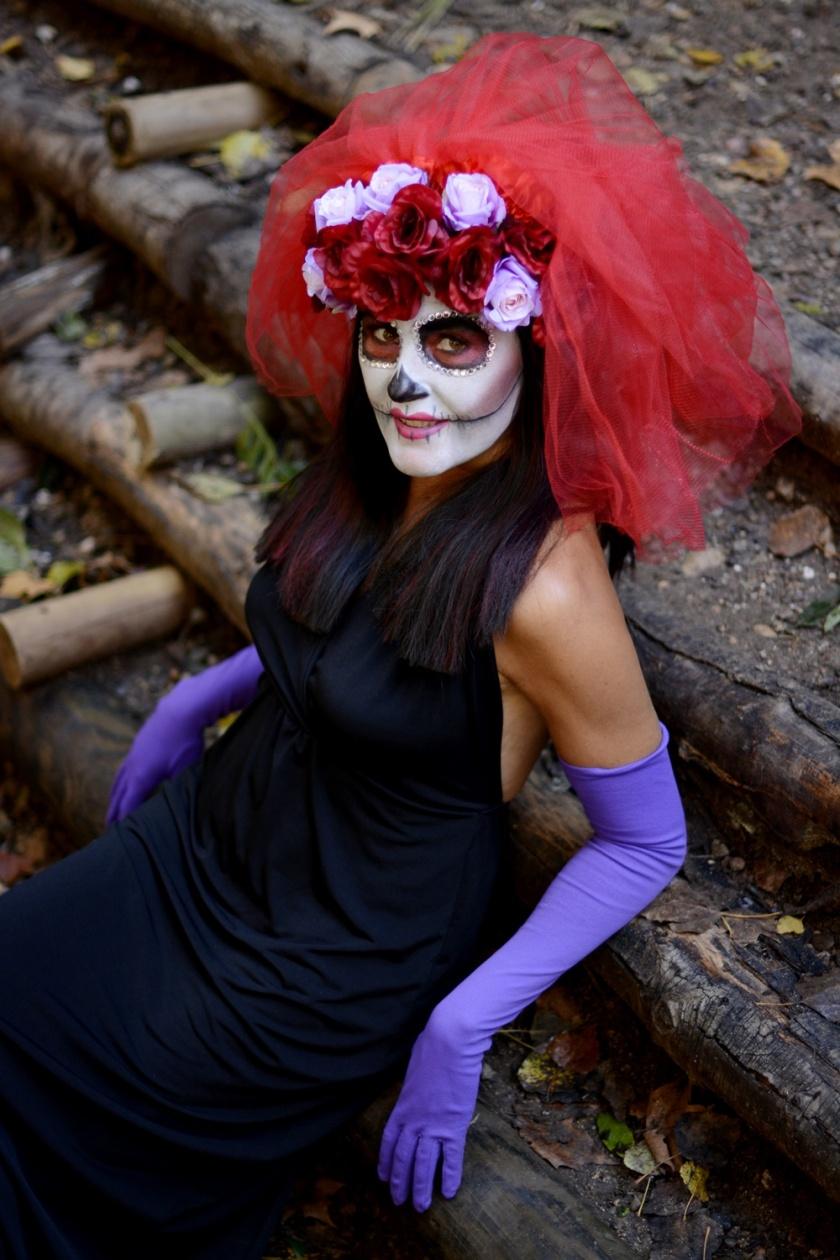 Cuidatuimagen, Catrina, Miss Catrina, Calavera mexicana, Calavera Garbancera, Estilismos, Disfraces, Halloween 7